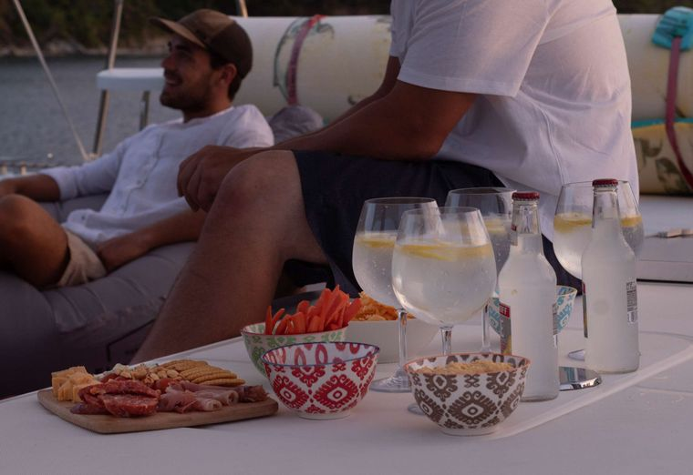 NEMO Yacht Charter - Relax time