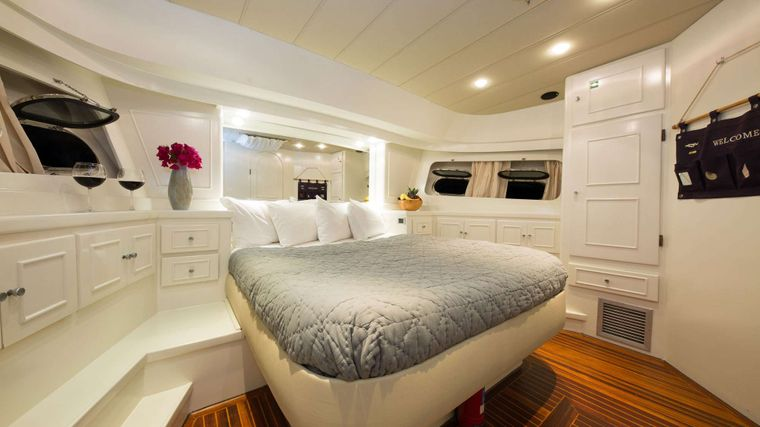 SERENITY 70 Yacht Charter - Master Cabin