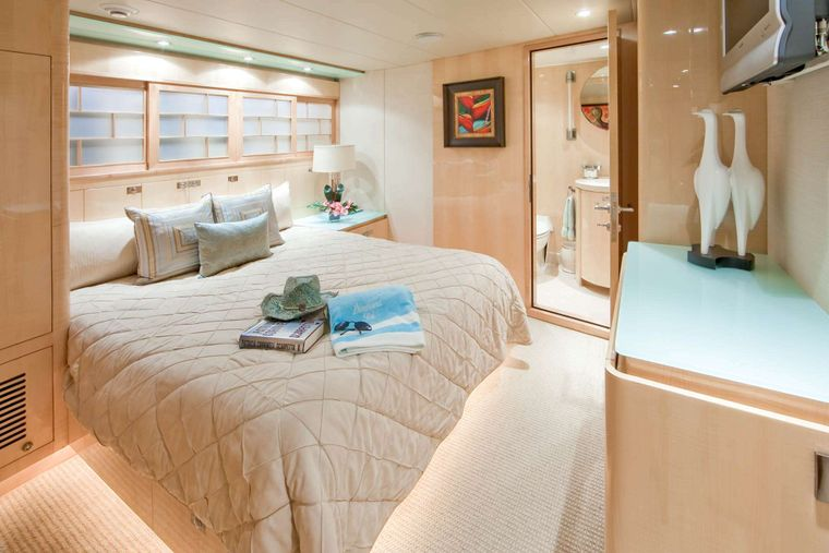 LORAX Yacht Charter - Starboard Guest Stateroom