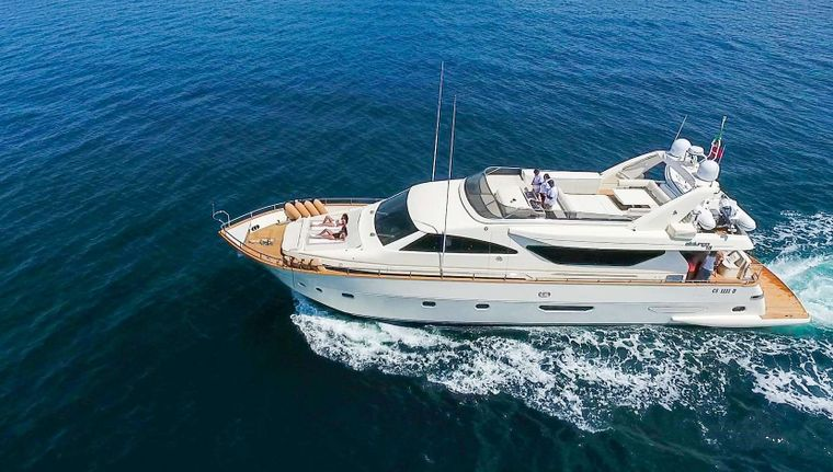 RIVIERA Yacht Charter - M/Y Riviera at anchor
