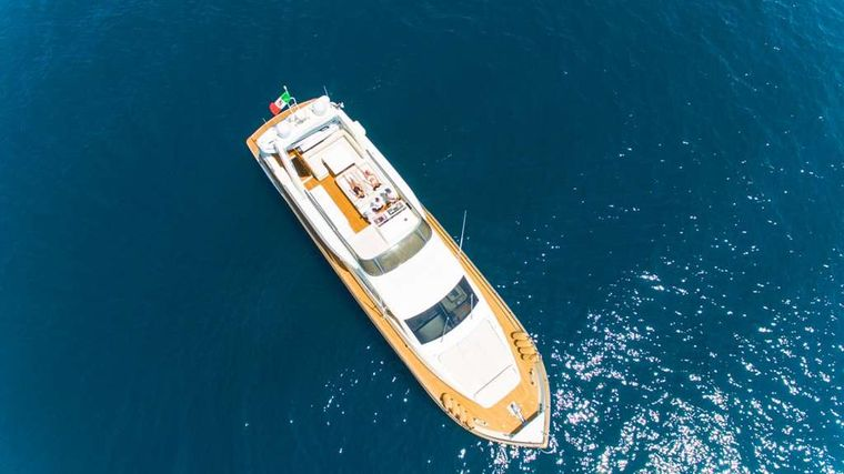RIVIERA Yacht Charter - Aerial view