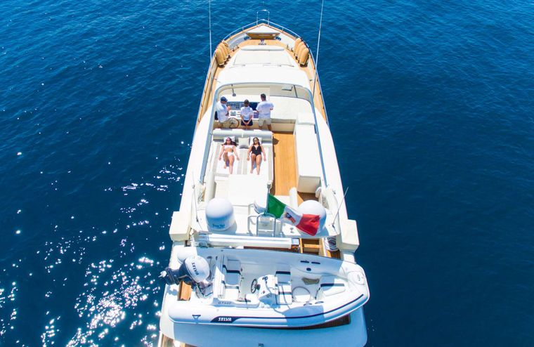 RIVIERA Yacht Charter - Aereal view