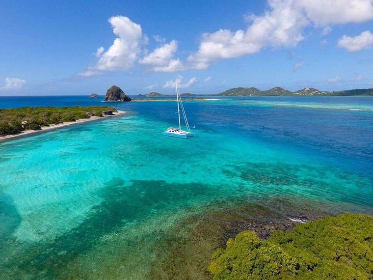 SKYLARK Yacht Charter - In the Grenadines.