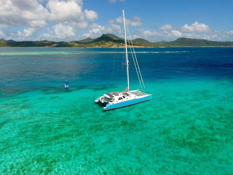 SKYLARK Yacht Charter - Just south of Carriacou