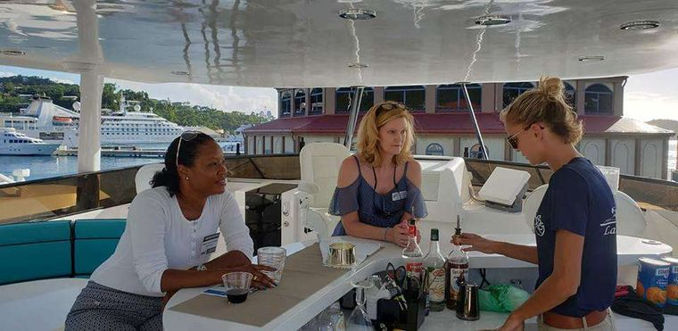 LADY SHARON GALE Yacht Charter - Professional service with a big smile.