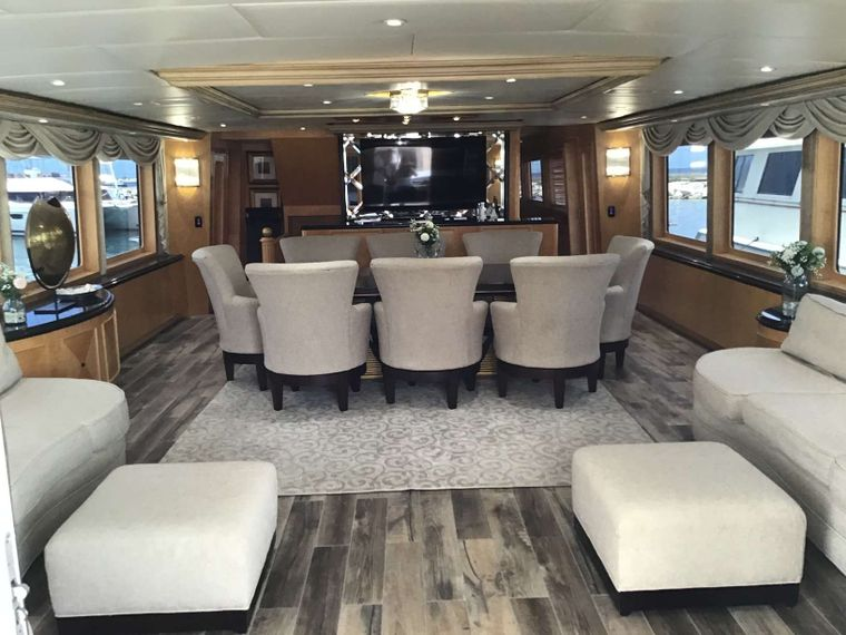 LADY SHARON GALE Yacht Charter - Main  Dinning