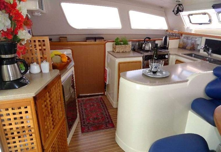 DREAMING ON Yacht Charter - Galley