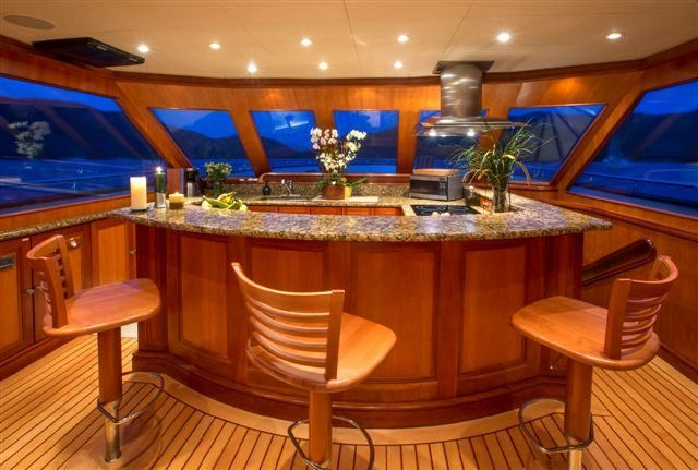 MAGICAL DAYS Yacht Charter - Galley