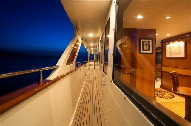 MAGICAL DAYS Yacht Charter - Port Side