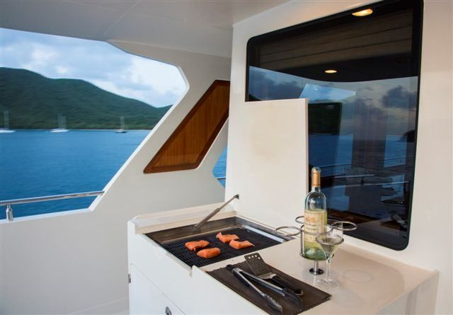 MAGICAL DAYS Yacht Charter - Grill