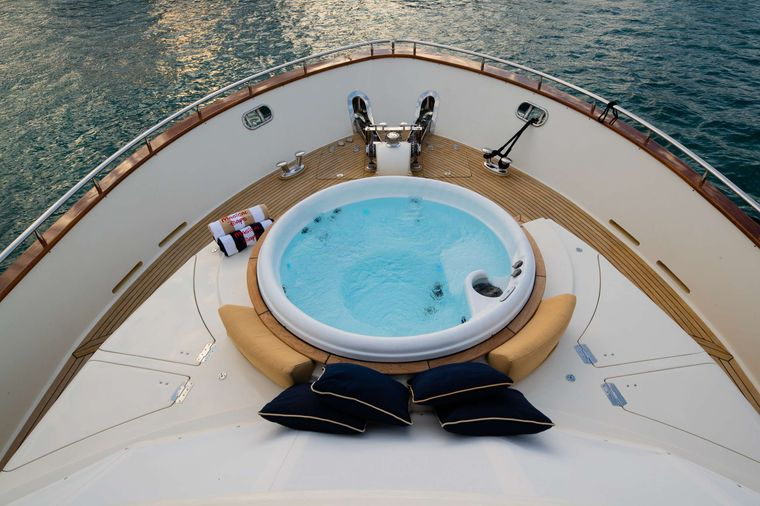 MAGICAL DAYS Yacht Charter - New Jacuzzi!!