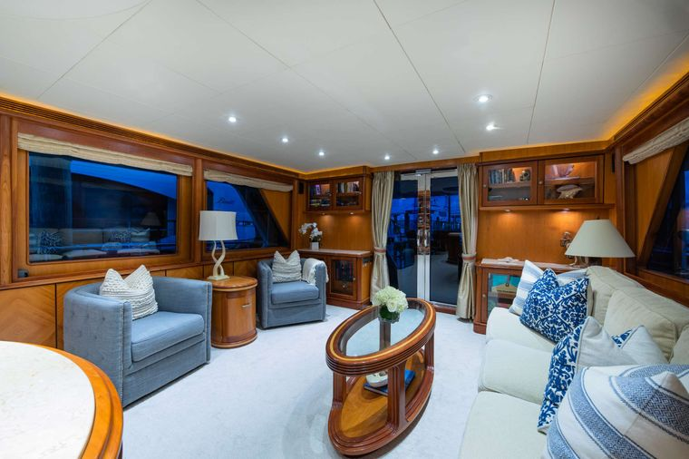 MAGICAL DAYS Yacht Charter - Side View Salon