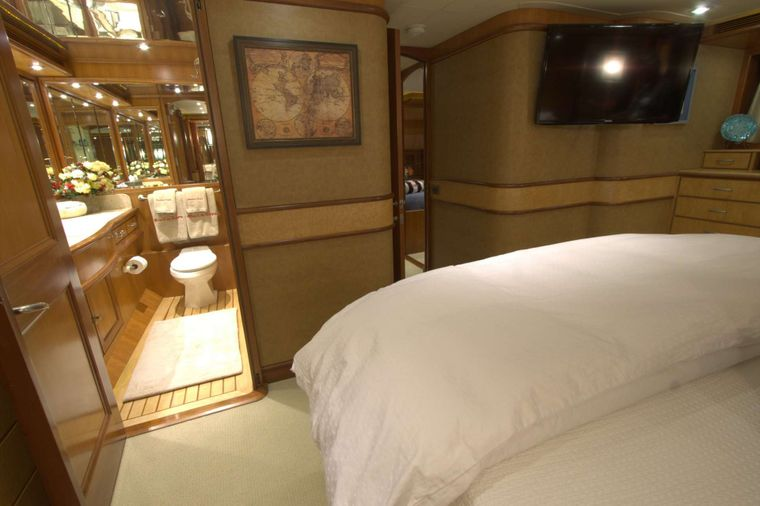 MAGICAL DAYS Yacht Charter - Master Bath with Shower