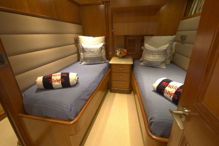MAGICAL DAYS Yacht Charter - Twin Stateroom