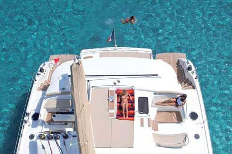 MOBY DICK Yacht Charter - On deck