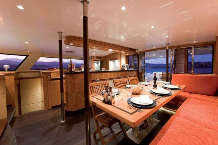 MOBY DICK Yacht Charter - Salon another view
