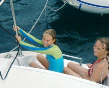 MIMBAW Yacht Charter - We have snorkel and dive equipment for children.  Also: lots of games and floaties if the children just want to relax.