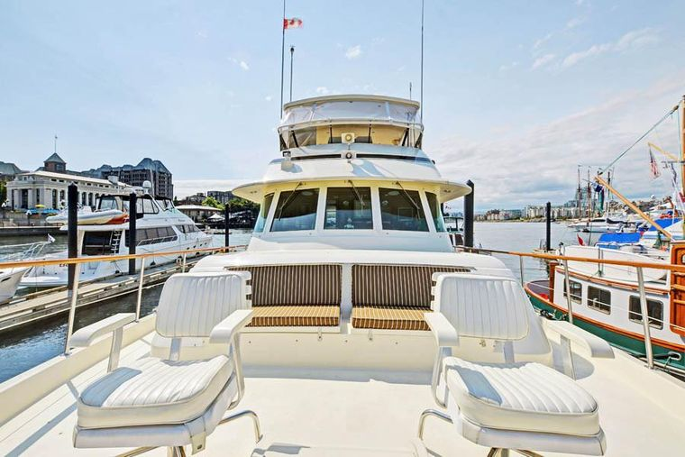 NORTHERN LIGHT Yacht Charter - Forward Deck Seating