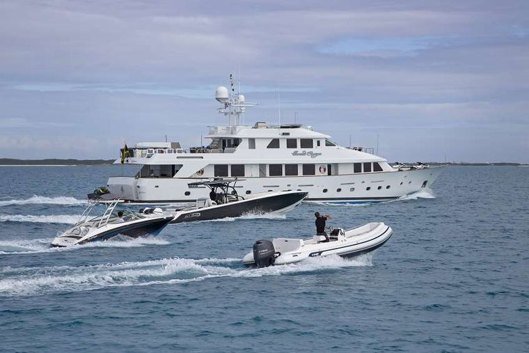 SWEET ESCAPE Yacht Charter - Tenders and Toys!