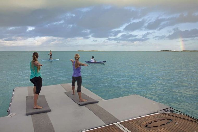 SWEET ESCAPE Yacht Charter - Unwind with Yoga!