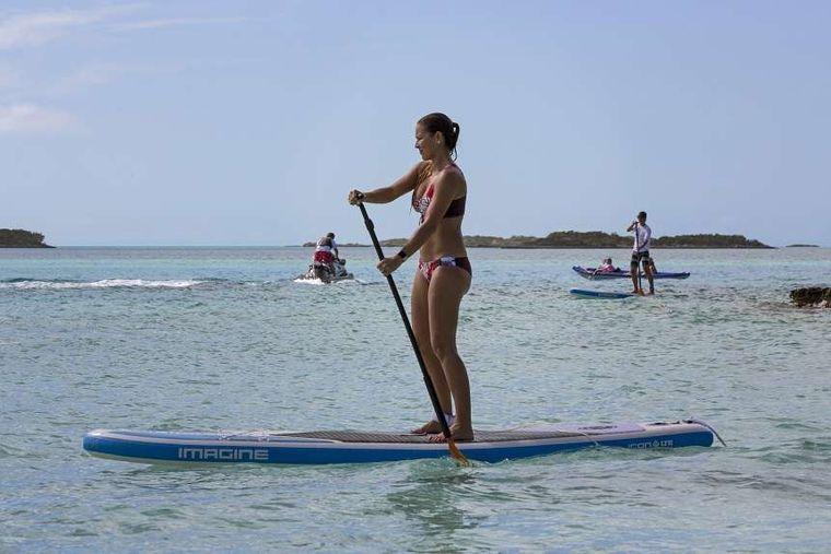 SWEET ESCAPE Yacht Charter - Learn to Paddle Board!