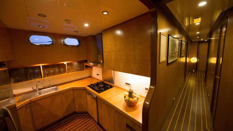 SERENITY 86 Yacht Charter - GALLEY