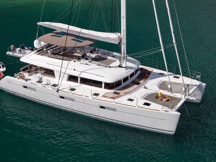 SAIL AWAY Yacht Charter - Aerial view