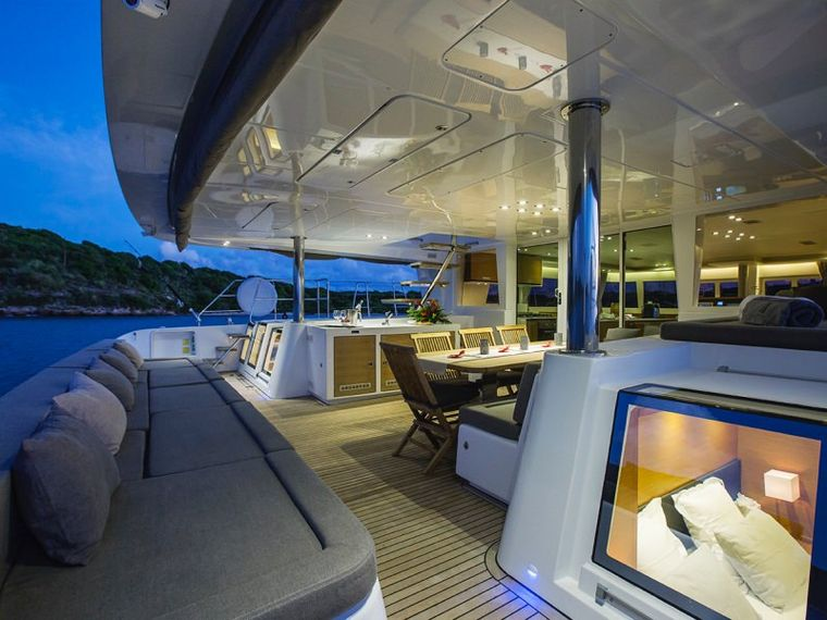 SAIL AWAY Yacht Charter - Direct access from the aft cabins to the cockpit
