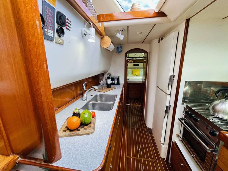 VISION Yacht Charter - Modern Galley