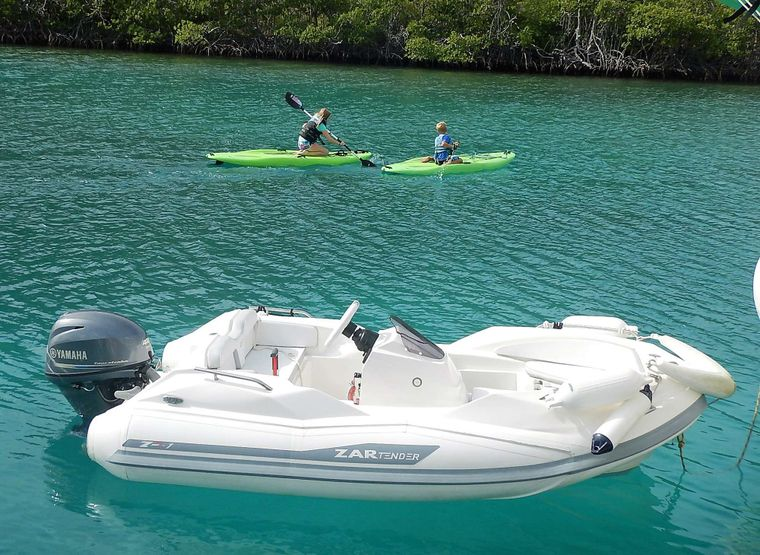 VISION Yacht Charter - New Tender