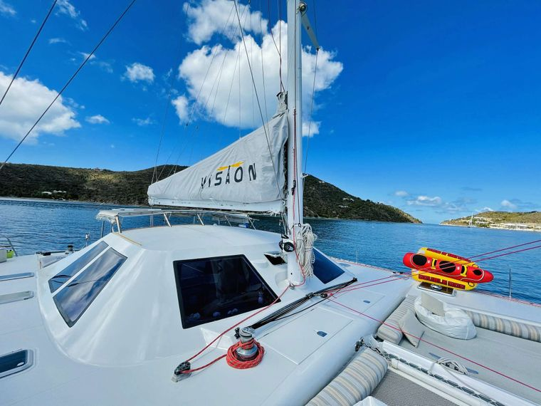 VISION Yacht Charter - Spacious outdoor areas