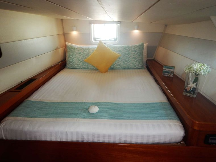 VISION Yacht Charter - Guest Suite # 1