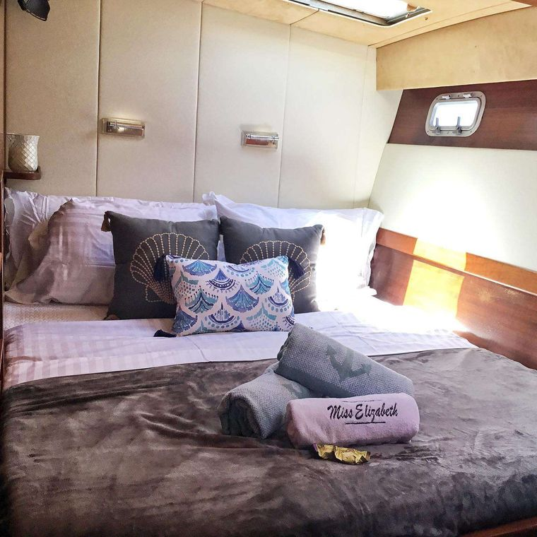 MISS ELIZABETH Yacht Charter - New cabin redo, more pics coming!