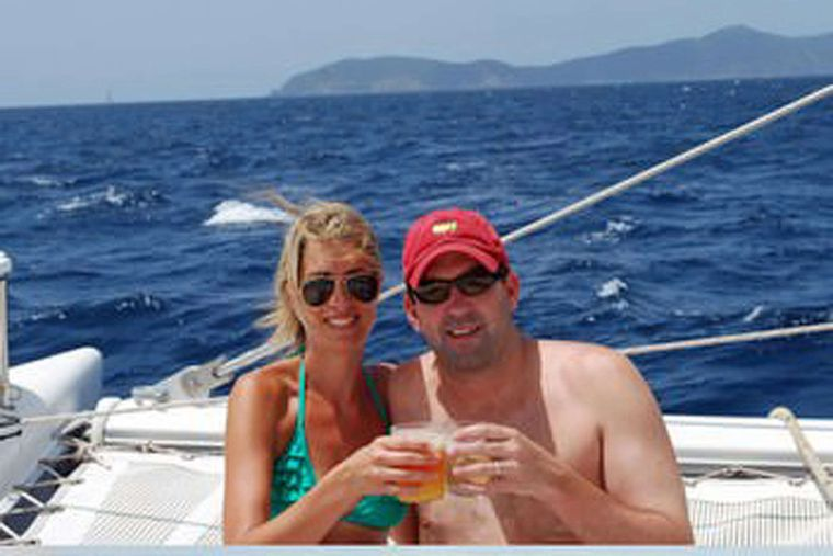 MISS ELIZABETH Yacht Charter - Cocktails on the foredeck
