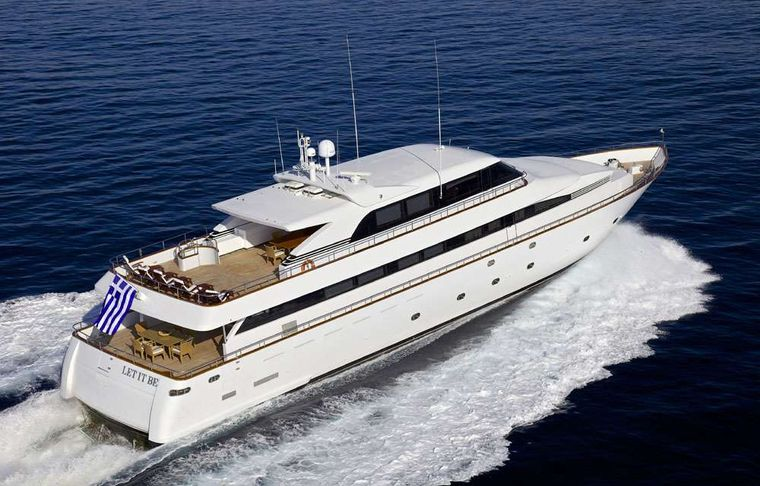 LET IT BE Yacht Charter - cruising