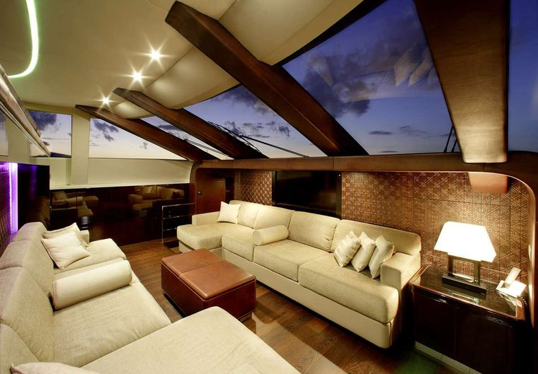 MY TOY Yacht Charter - Private seating area