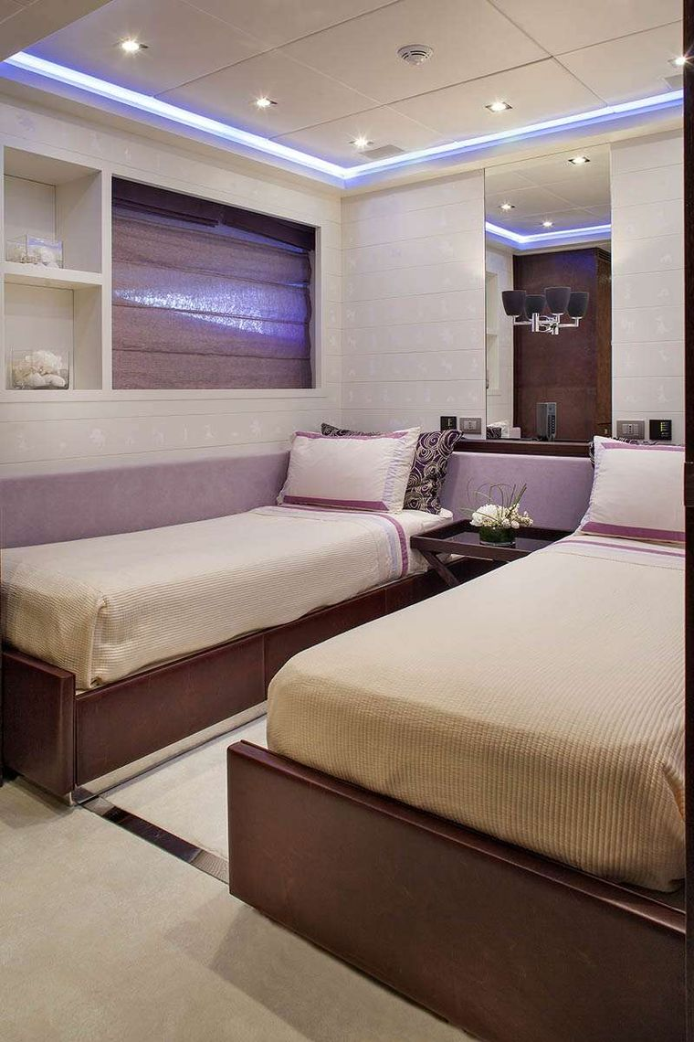 MY TOY Yacht Charter - Twin stateroom