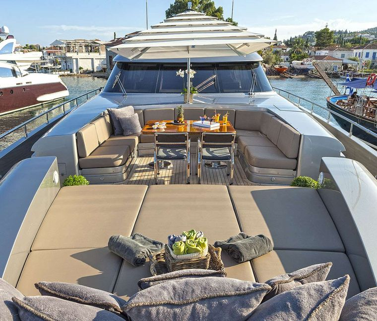 MY TOY Yacht Charter - Bow private area