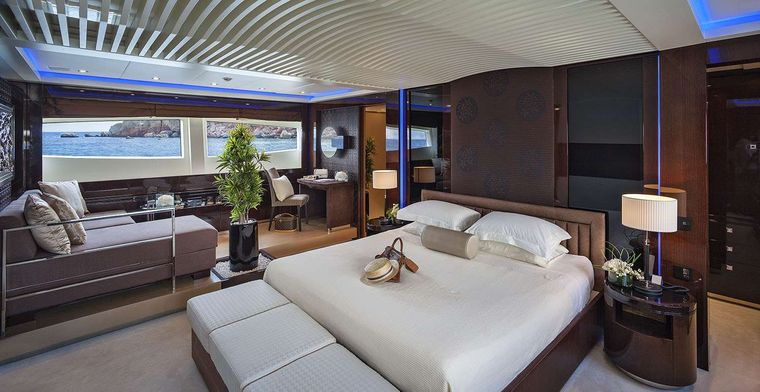 MY TOY Yacht Charter - Master Suite