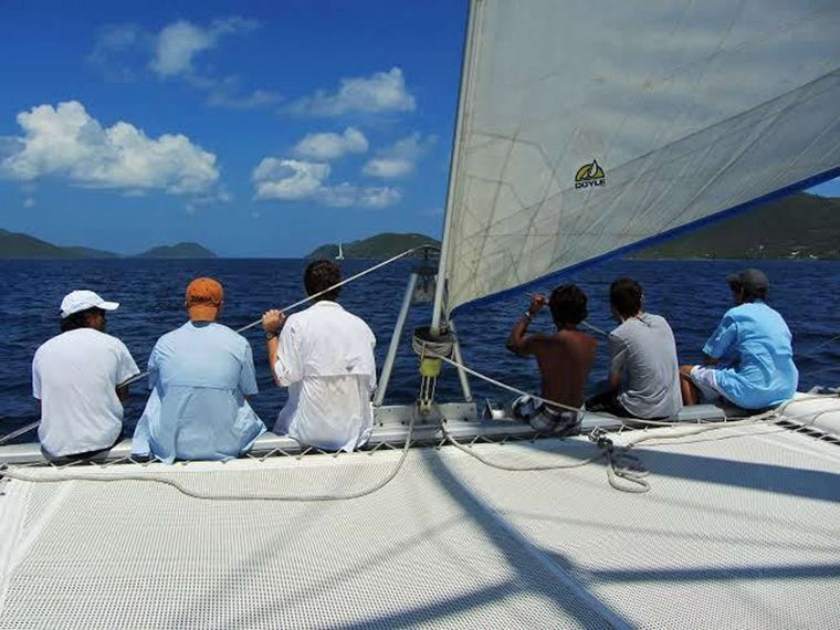 GUIDING LIGHT Yacht Charter - Riding the Bow