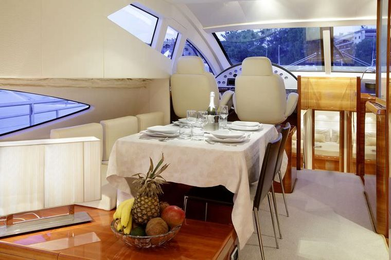 GEORGE V Yacht Charter - Dining