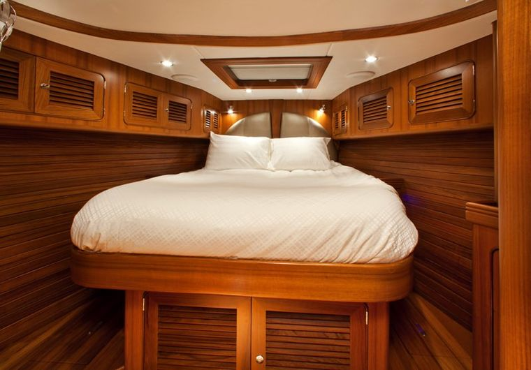 ARCHANGEL Yacht Charter - Forward Guest Stateroom