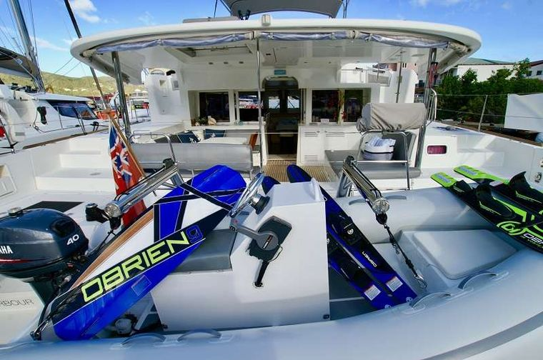 GYPSY PRINCESS Yacht Charter - Wake board or water ski with instructor