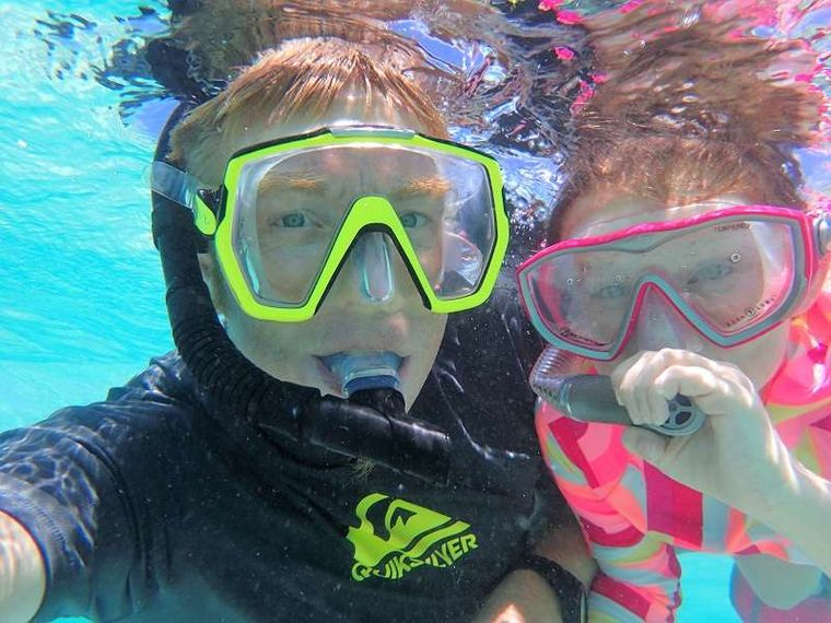 GYPSY PRINCESS Yacht Charter - First time snorkel