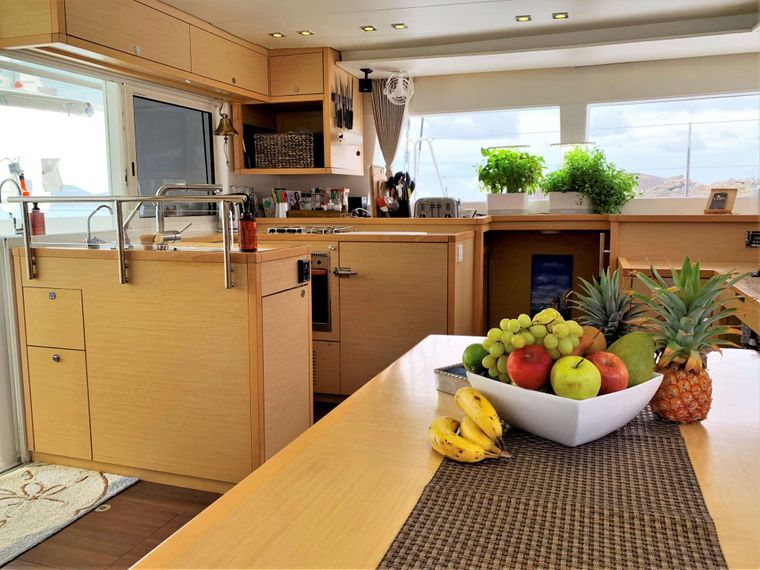 GYPSY PRINCESS Yacht Charter - Main salon with a view