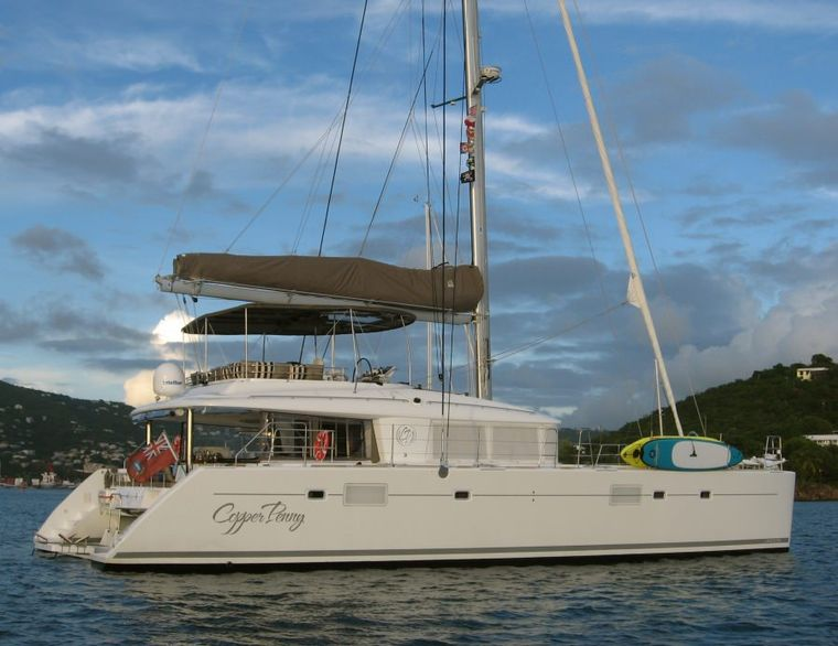 COPPER PENNY Yacht Charter - Starboard