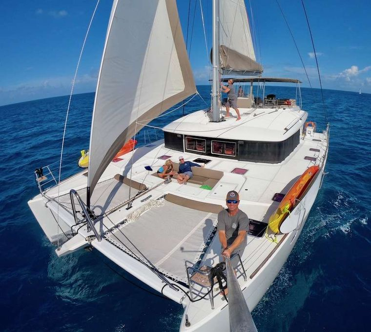COPPER PENNY Yacht Charter - Enjoy life, or the sun, or taking a selfie!