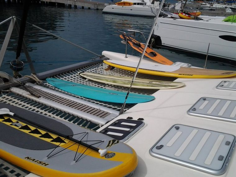 FEEL THE MAGIC Yacht Charter - This boat is all about fun on the water!