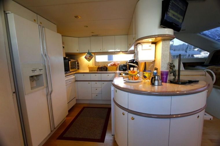COMPANIONSHIP Yacht Charter - Galley