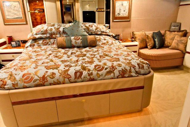 COMPANIONSHIP Yacht Charter - Master Stateroom